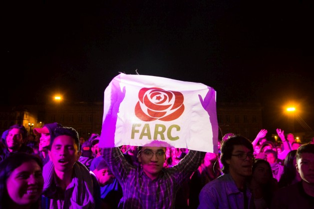 In photos: former Colombian guerrilla group FARC reinvented, as a political party
