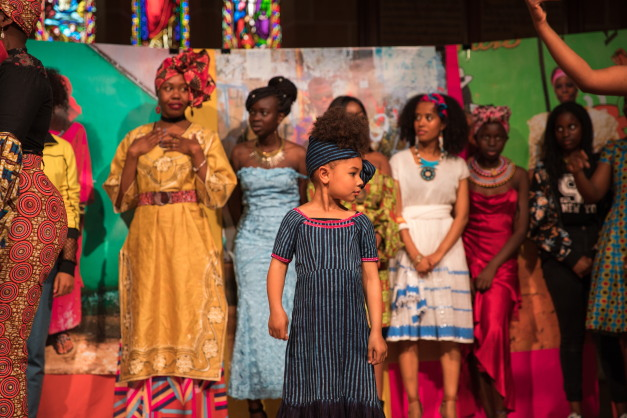 In photos: Fashion raises funds for the Aminata Maternal Foundation