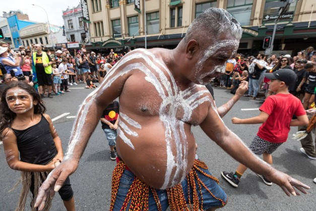 In photos: Thousands march for Australian Aboriginal rights and recognition in Sydney
