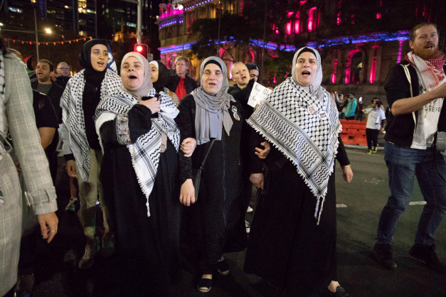 In photos: Palestinians in Sydney mark 70 years since removal from lands